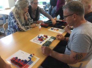 Praktik og læring via leg med LEGO