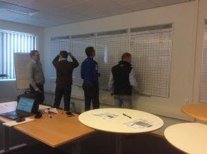 De første KPI'er og tal kommer på tavlerne, der guides og hjælpes.